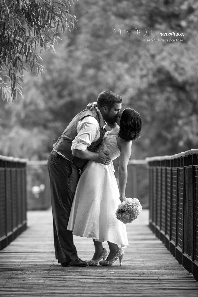 Memphis wedding photographer outdoor wedding