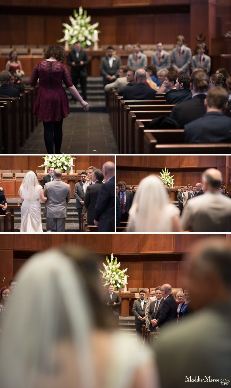 Christ Methodist wedding ceremony