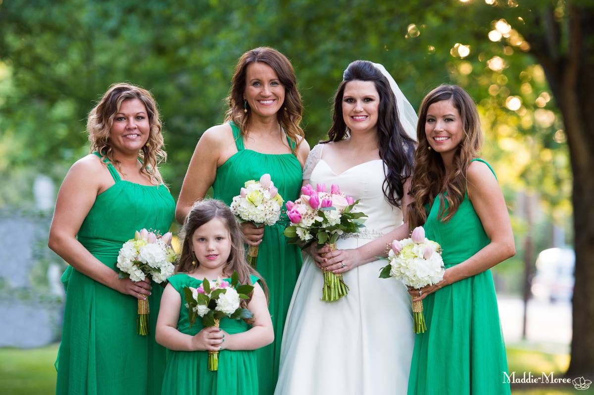 Holy Rosary Wedding party