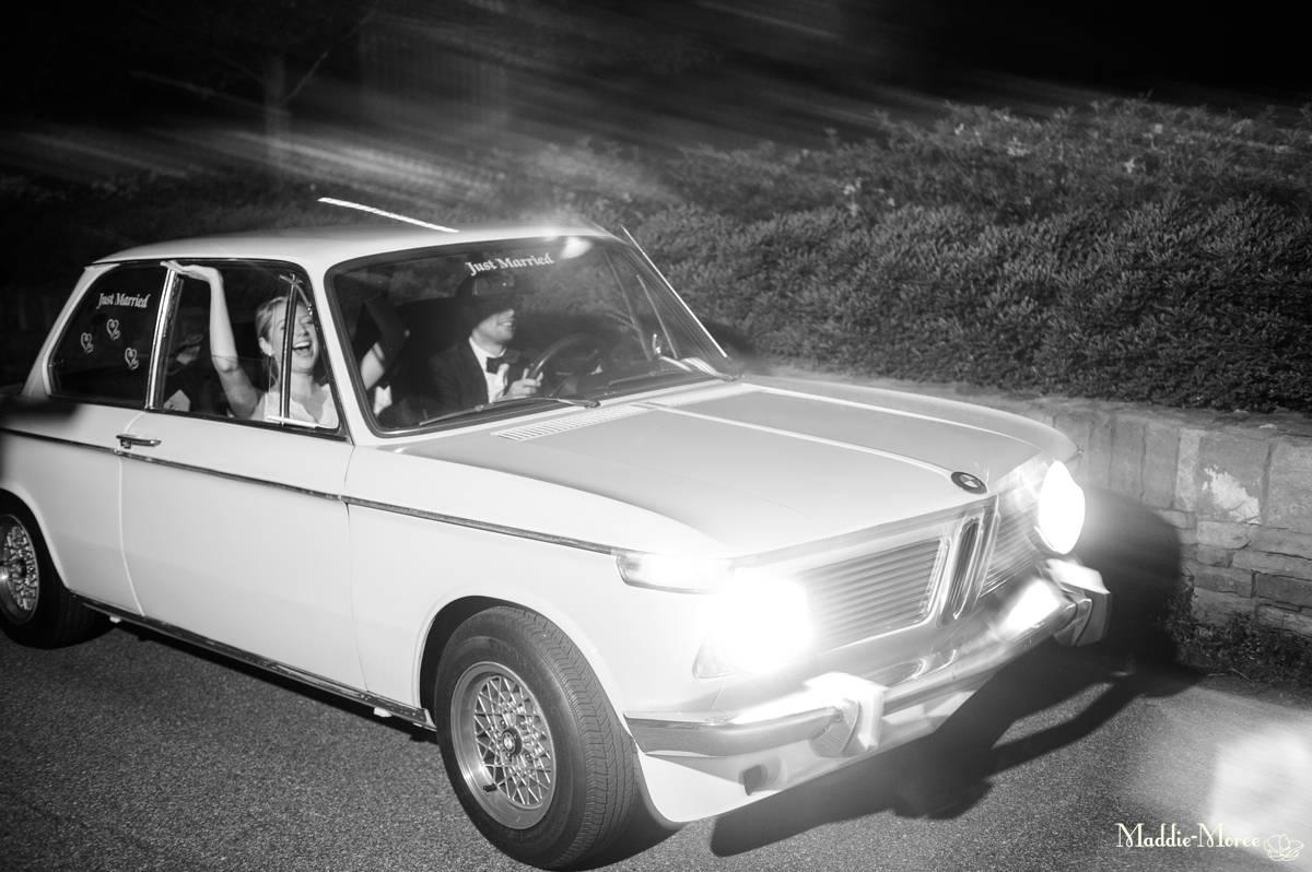 Getaway car!