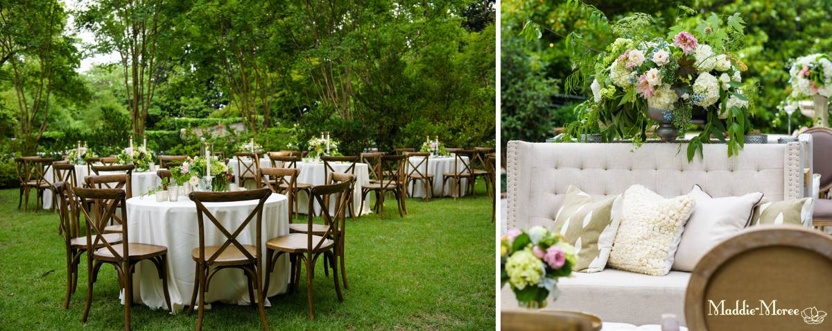 Reception details, kelly vandervoort and gracie leathers