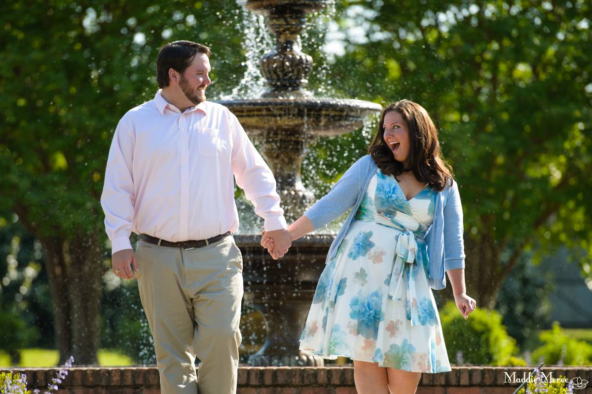 Rose Garden Engagement