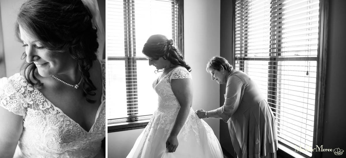 getting ready bridal