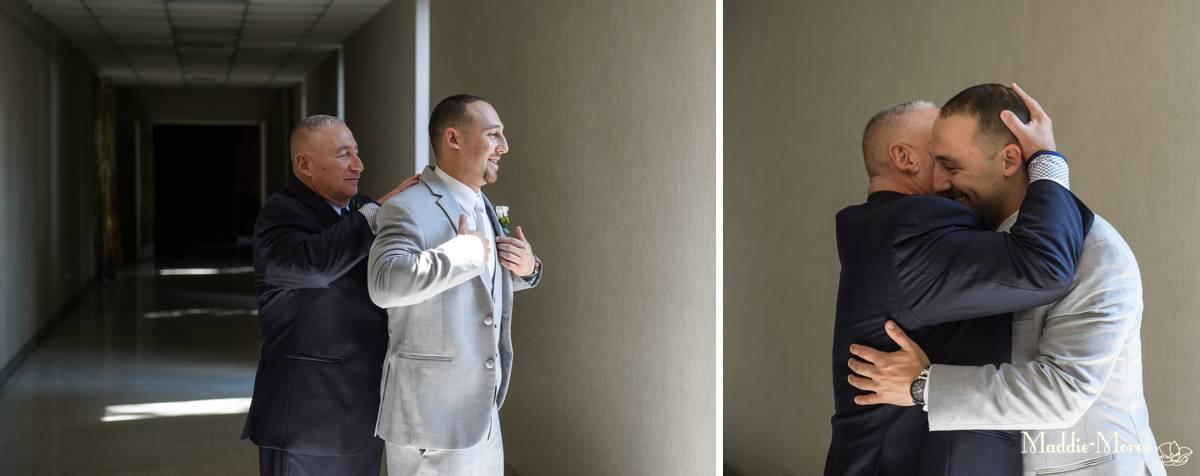groom christ methodist getting ready