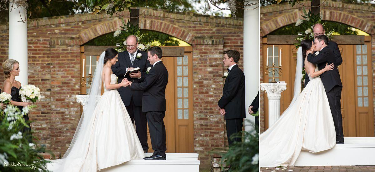 cedar hall ceremony kiss