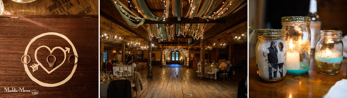 Heartwood Hall reception details