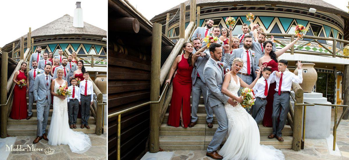 memphis zoo wedding party