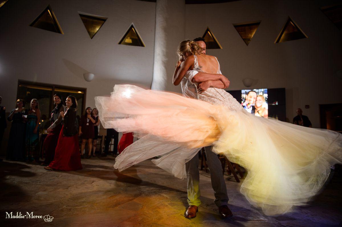 zambezi reception maddie moree dancing