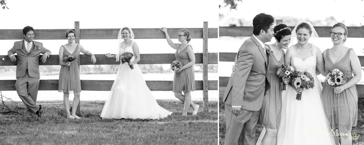 bridesmaids and bridefellow