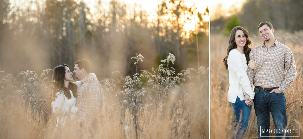 winter grass engagement