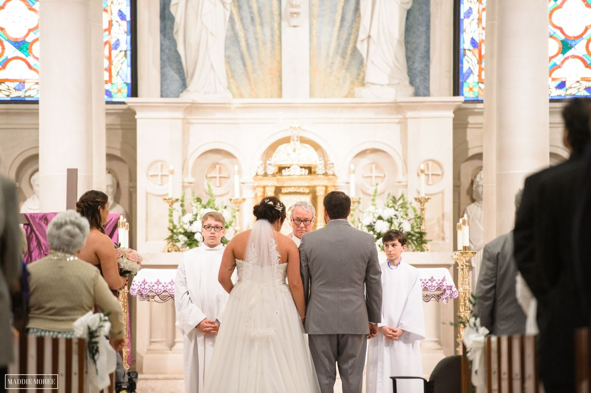 st louis catholic wedding ceremony