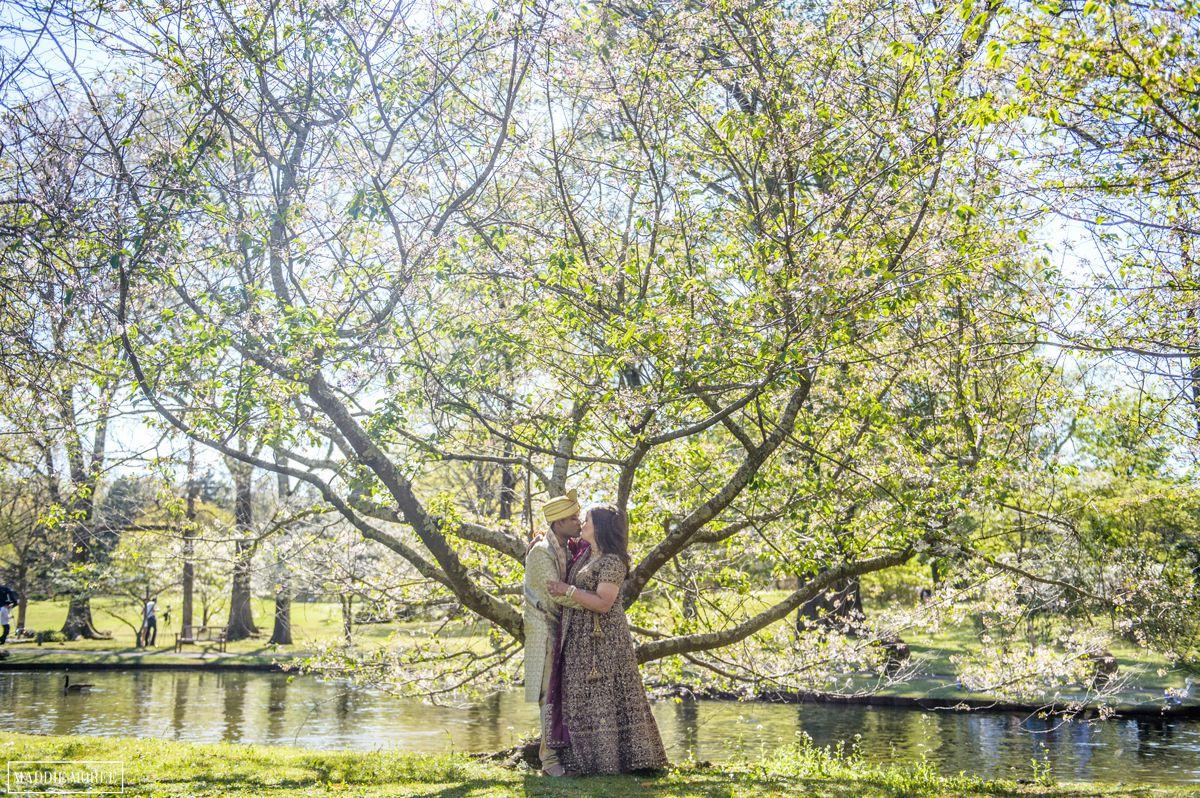 memphis botanic gardens bride groom