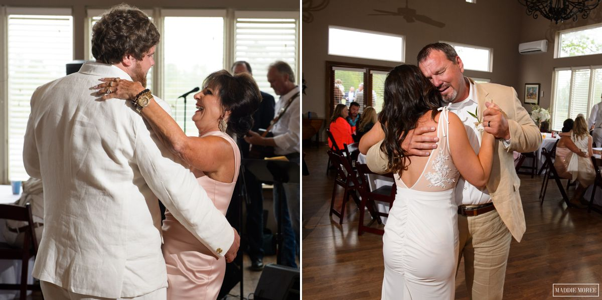 father daughter and mother son dance