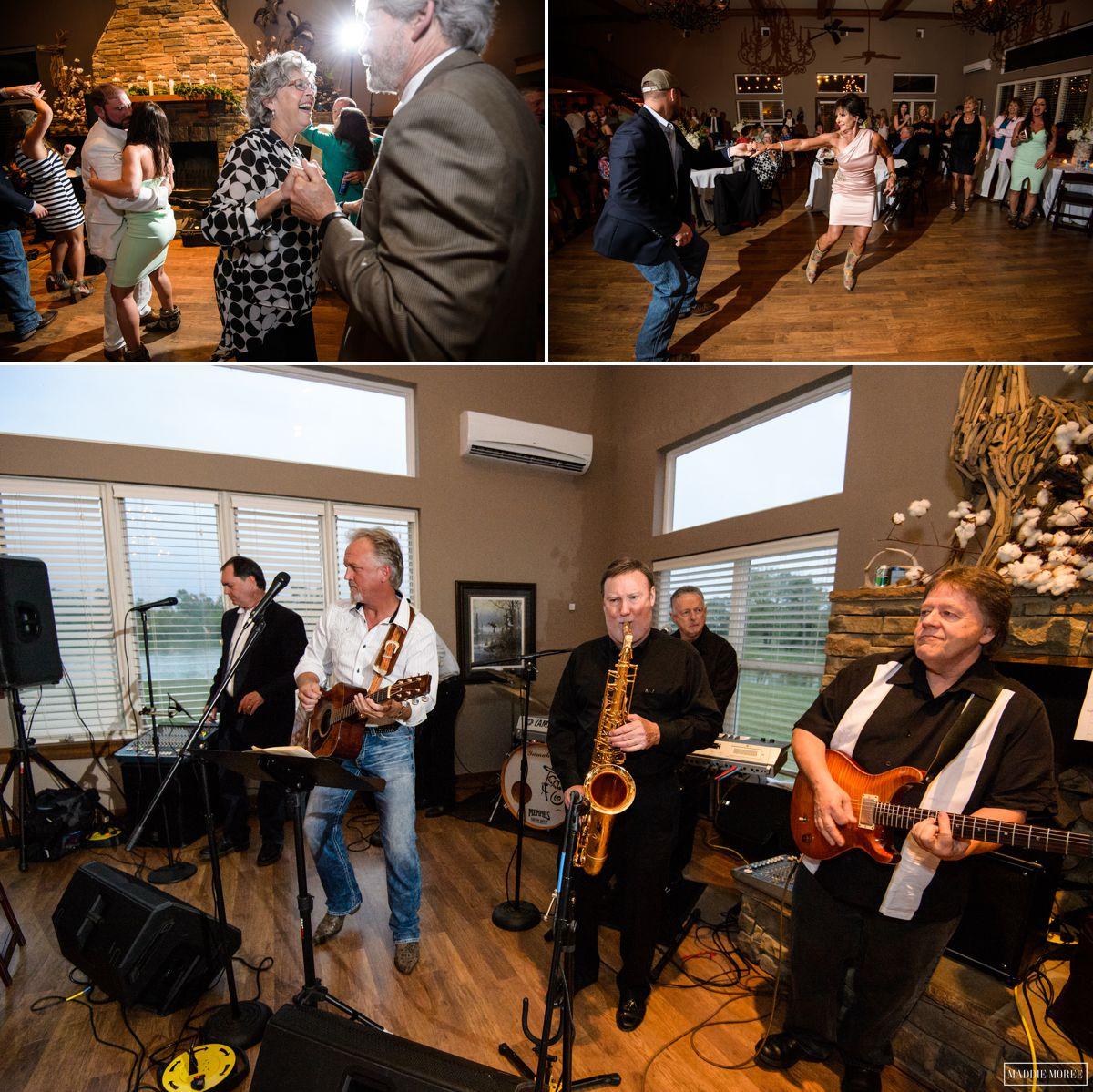 Morgan and Zack wedding photography reception