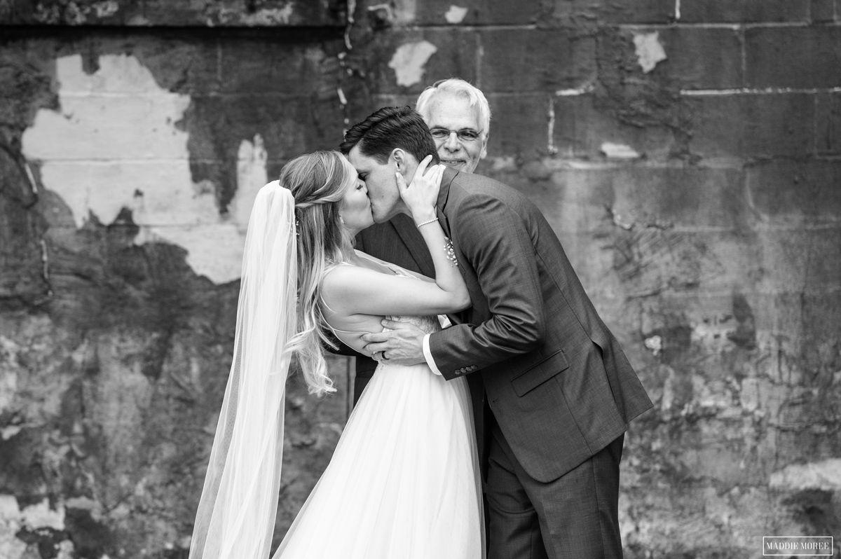 maddie moree wedding kiss