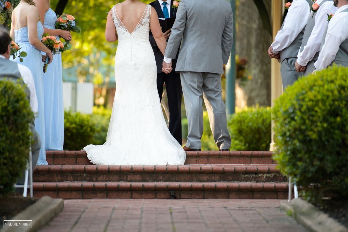 Collierville Town Square wedding
