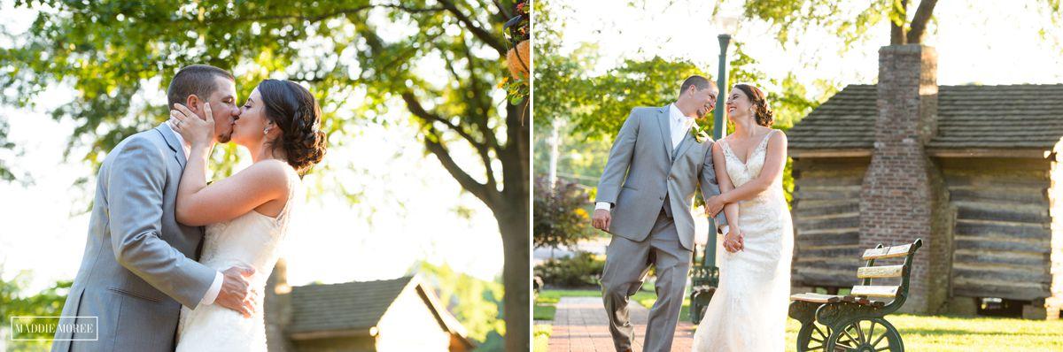 Summer wedding maddie Moree outside wedding photographer