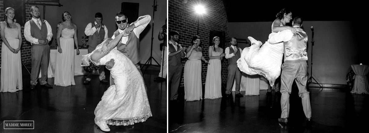 Bride and Groom surprise dance routine
