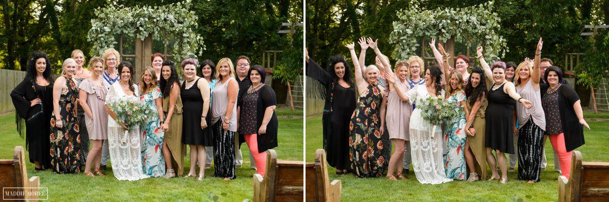 bride's friends