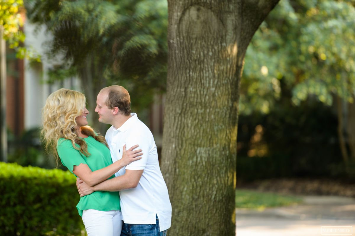 downtown engagement photography maddie moree