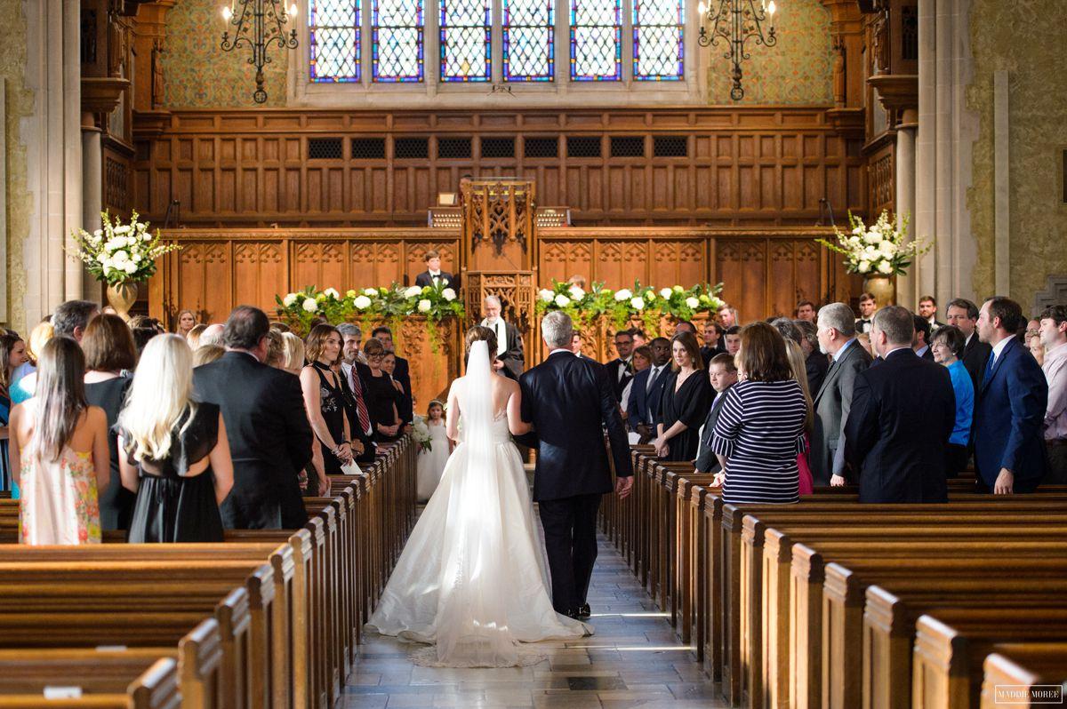 Idewild Presbyterian wedding ceremony