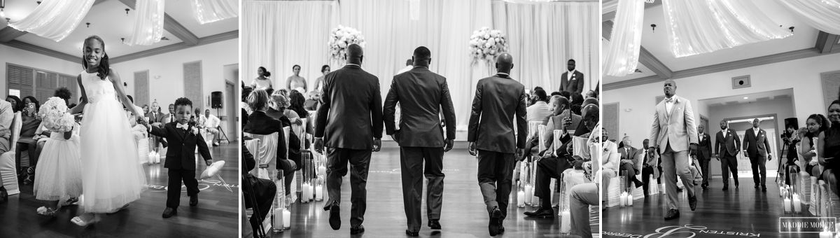 groom's entrance
