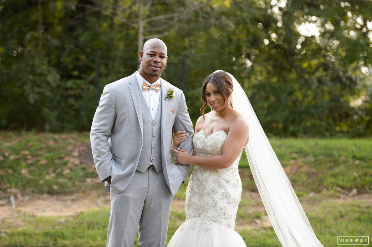 Maddie moree bride and groom