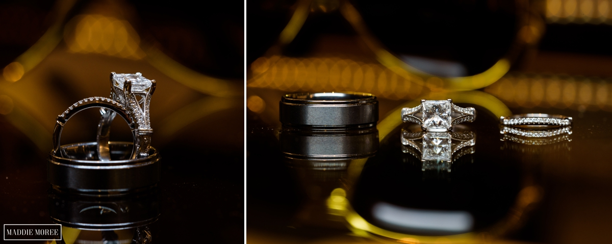 Ring detail photography
