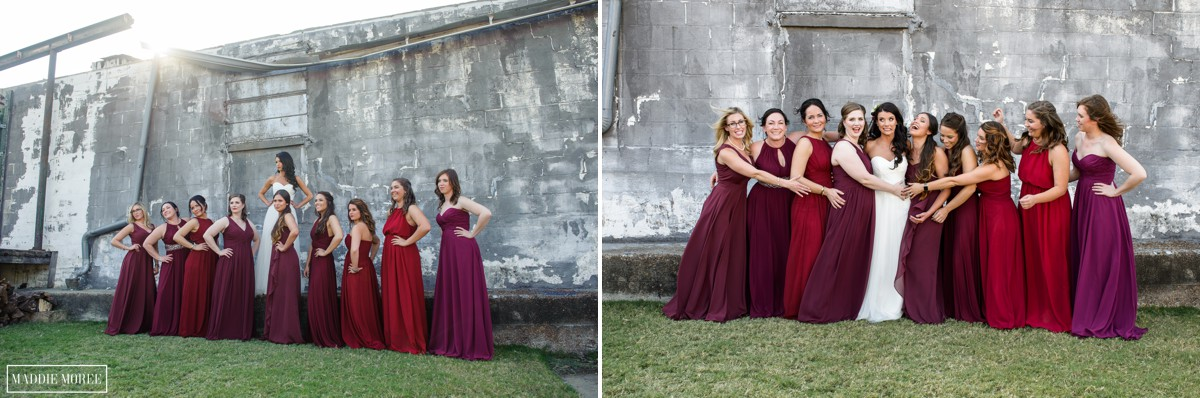 bridesmaids loflin wedding photography