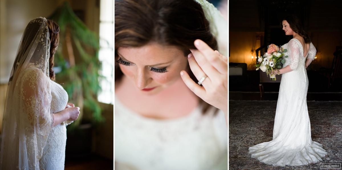 bridal details portrait