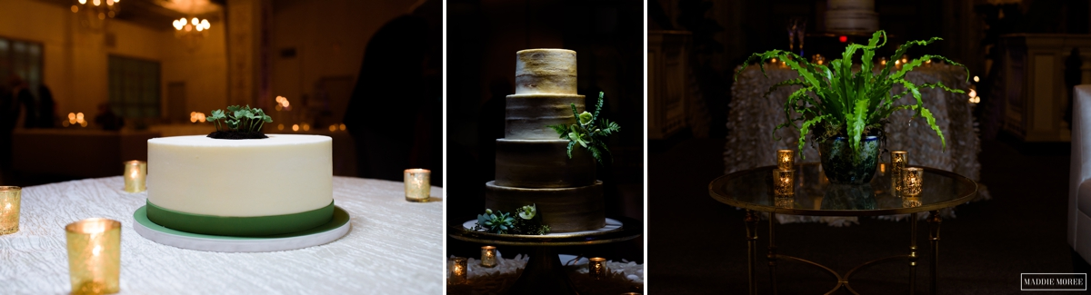 flour garden cake and deedra stone arrangements