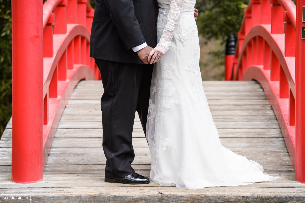 Botanic japanese garden memphis photography wedding