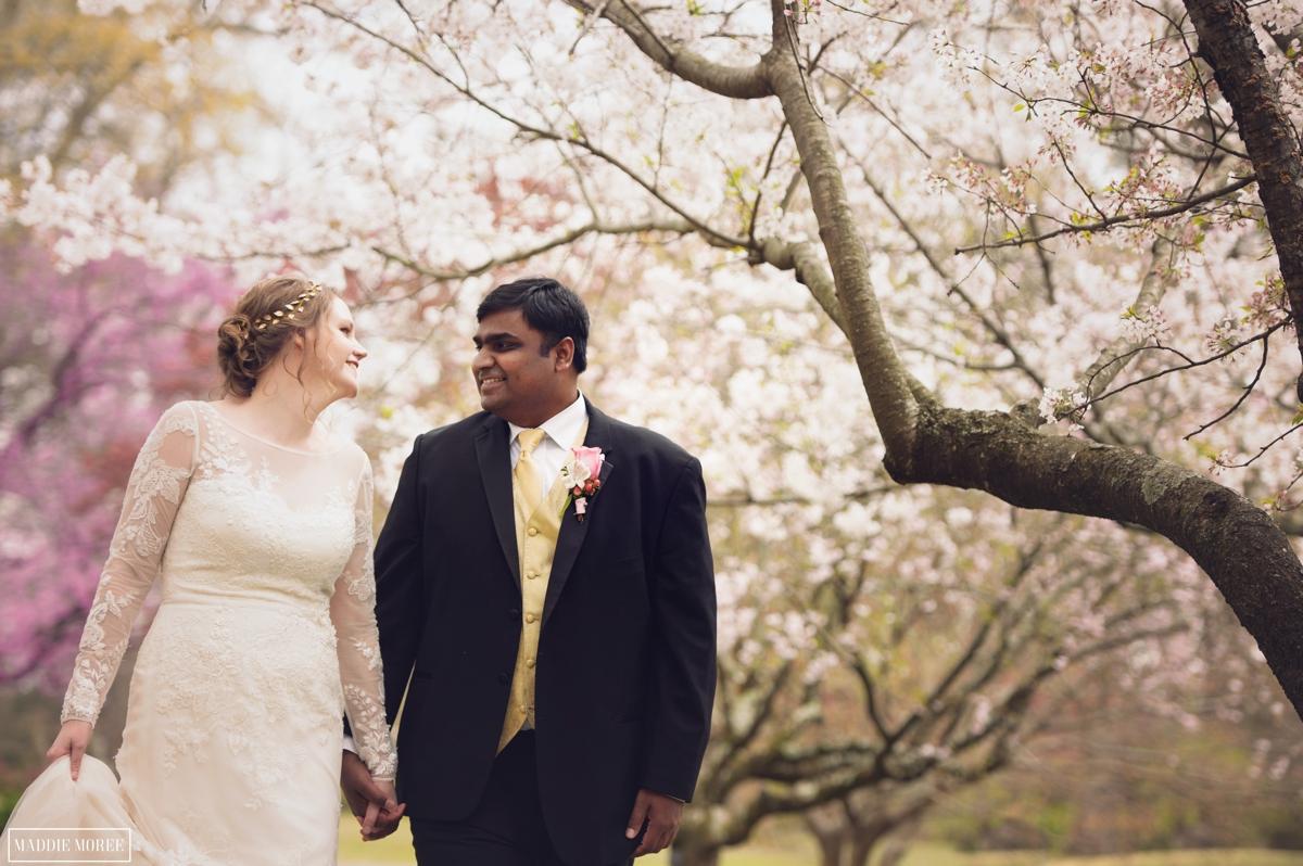 Memphis Botanic wedding photography