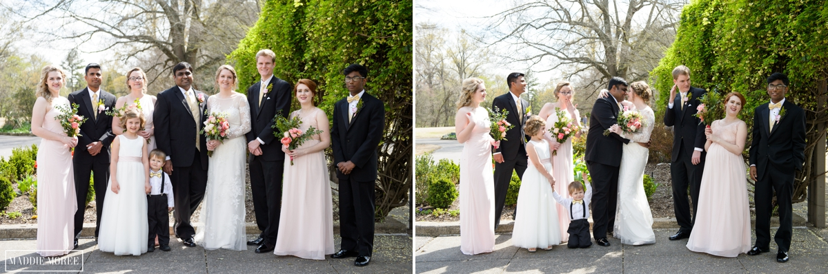Memphis Botanic Wedding Party photography Maddie Moree 10