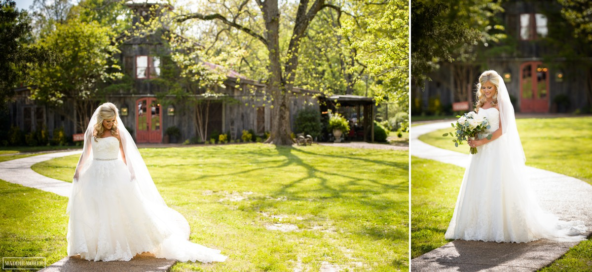 bridal portrait heartwood hall