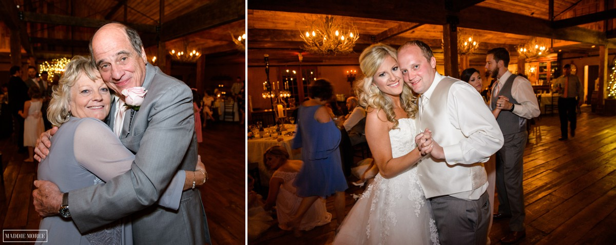 candid wedding reception photography