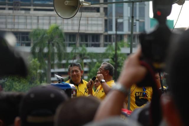 Muhyiddin Yassin at Bersih 5