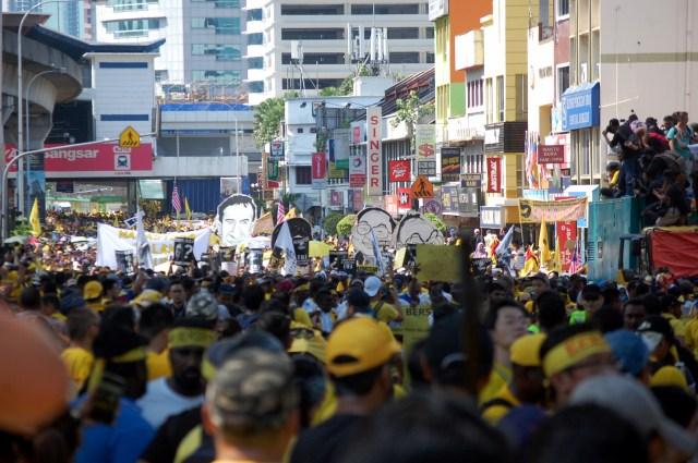Bersih 5 on Jalan Bangsar