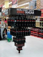 Coca-Cola Zero Pyramid
