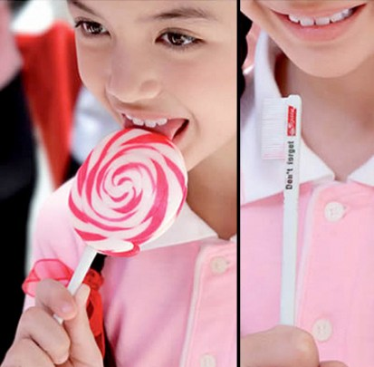 Colgate Toothbrush Lollipop
