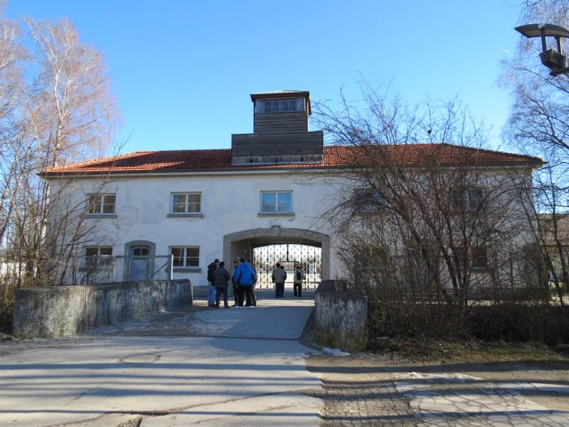 Dachau Path of Remembrance - Entrance