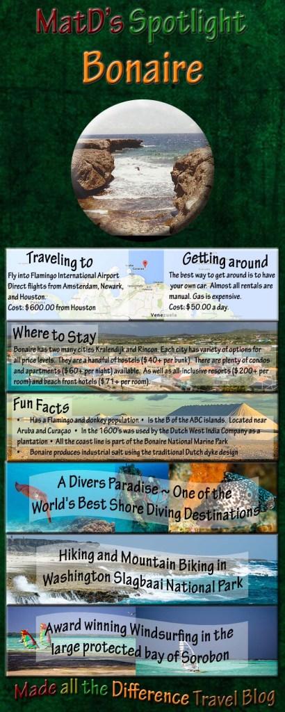 MatD's Spotlight on Bonaire and Washington Slagbaai National Park