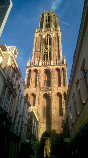 Dom Tower from the ground