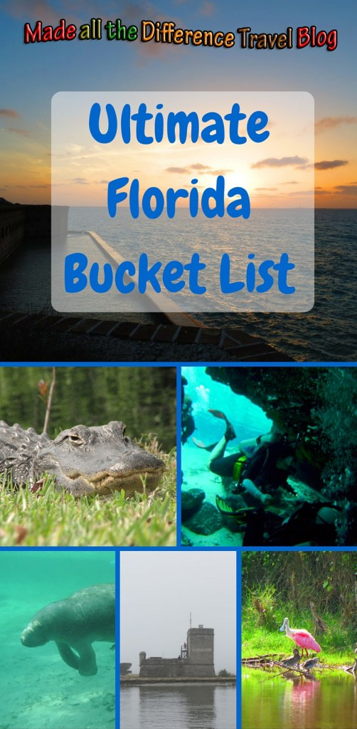 MatD's Ultimate Florida Bucket List. A complete list of things I want to do in Florida. I want to explore the entire state and have adventures along the way.