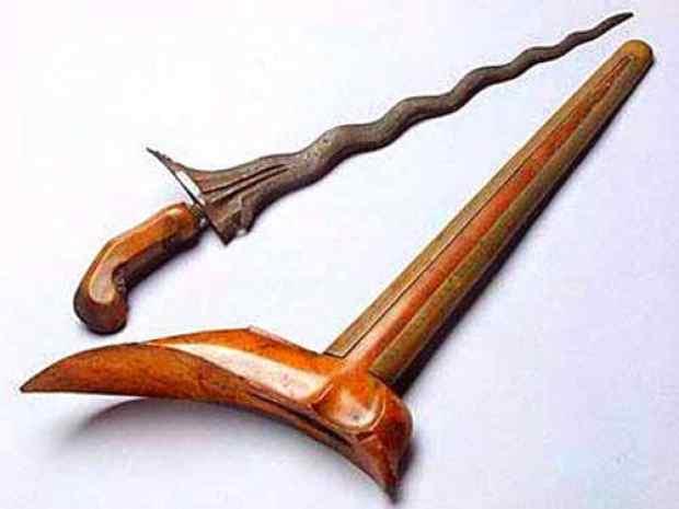 Senjata Tradisional Terapang