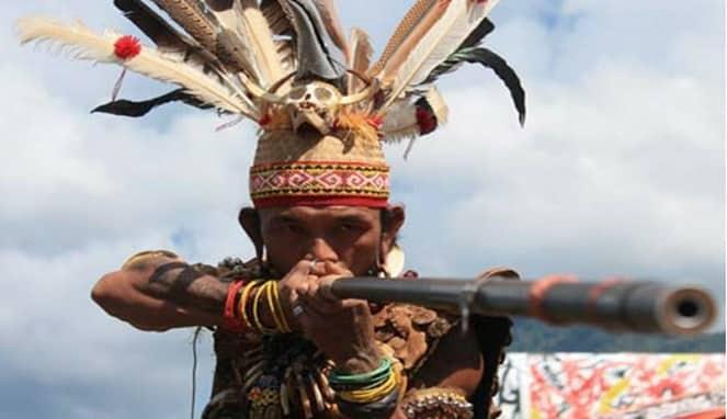 Senjata Tradisional Sumpit