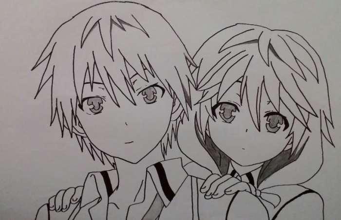 53+ Gambar Anime Keren Sketsa Terlihat Keren