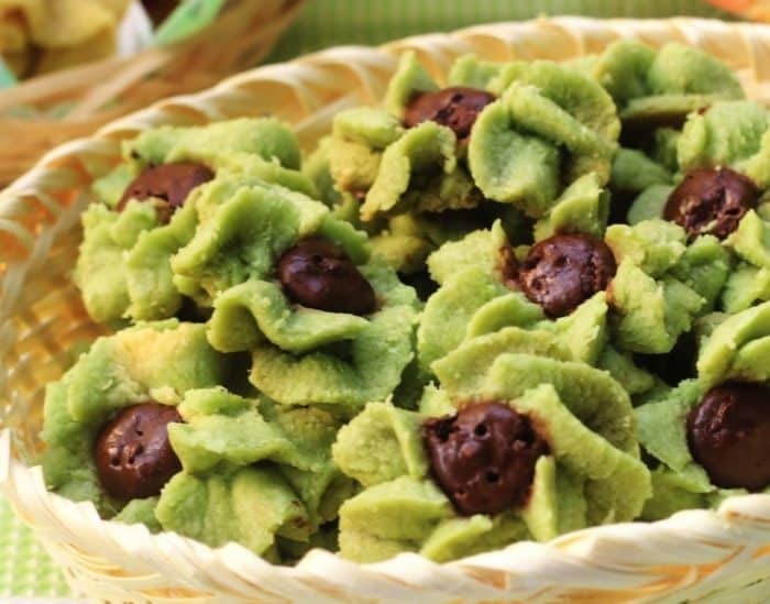 Resep Kue Semprit Green Tea
