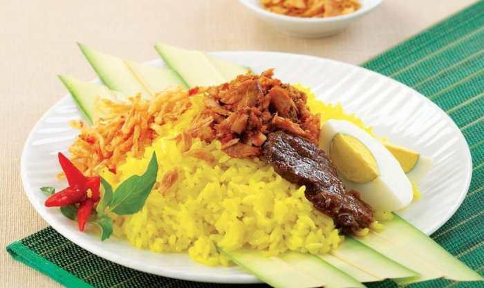 Resep Nasi Kuning Ayam Suir