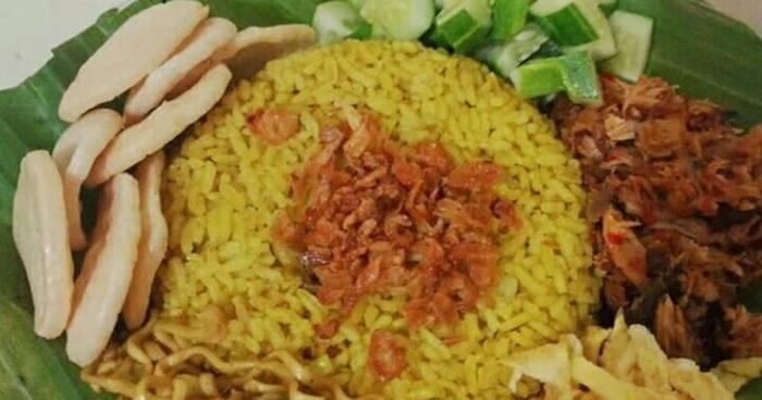 Resep Nasi Kuning Bumbu Kare